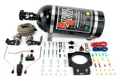 Nitrous Outlet 90mm Fast Intake 04-06 GTO Plate System (10lb Bottle)