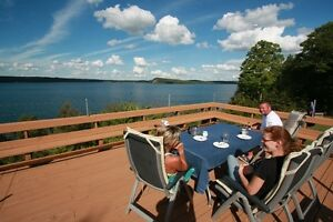 Lake Clear Cottage for rent with beautiful view