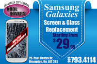 Samsung Galaxy S3,S4,S5,Note2,Note3,Note4 Screen Repairs On Spot