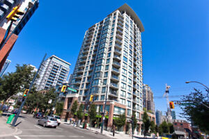 Furnished Penthouse 1bdrm+den near Yaletown avail Oct 1st
