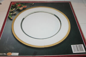 Silverplate CHARGER PLATES for Elegant Dining