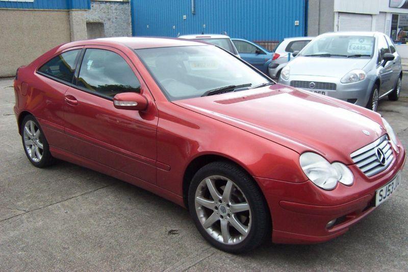 2003 mercedes benz c class c180k se 3dr 3 door coupe in for Mercedes benz fife