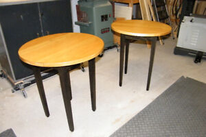 Custom Made Shaker End Tables - Solid Wood