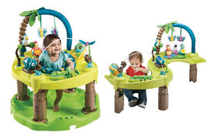Infant Baby play exersaucer 2-in-1