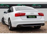 2014 64 AUDI A6 2.0 TDI ULTRA S LINE BLACK EDITION 4D AUTO 188 BHP DIESEL