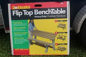 Bench/Table kit  NEW