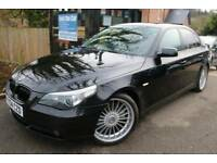 2004 BMW 5 SERIES 545i SE Black 4 Door Alpina Body Kit And Wheels FSH Leather