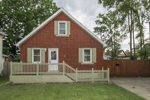 Renovated 1 1/2 Storey with 2+1 bedrooms & Double Garage