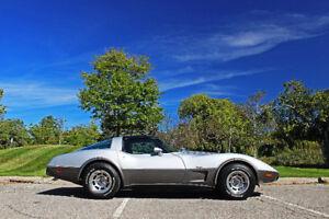 1978 Chevrolet Corvette Silver 25th Anniversary Edition