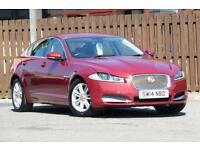 2014 JAGUAR XF 2.2D LUXURY 4DR (START/STOP) SALOON DIESEL