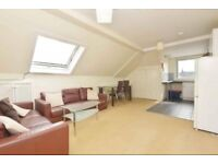 Large double bedroom with stunning views at the top of Leith