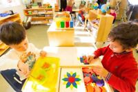 Private school Kindergarten Montessori Teacher - Sept. 2018