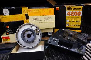projecteur diapositive Kodak 4200 et carrousel