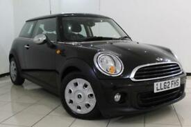 2012 62 MINI HATCH ONE 1.6 ONE SALT PACK 3DR 98 BHP