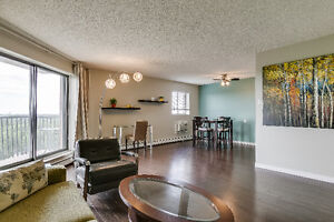 Fully-Furnished Broadway Area Condo w/ covered parking