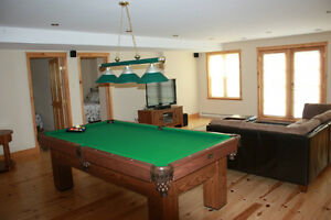 Chalet to rent in the Laurentiens valley - St Sauveur  Log house Cornwall Ontario image 4