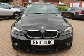 2010 10 BMW 3 SERIES 2.0 318D M SPORT BUSINESS EDITION TOURING 5D 141 BHP DIESEL