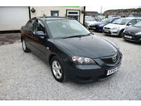 Mazda Mazda3 1.6 TS 4 DOOR+2006MY+GREEN+STUNNING
