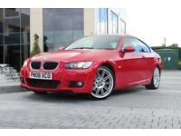 2008 08 BMW 3 SERIES 320D M SPORT 2.0 2D DIESEL