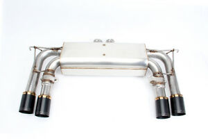 Dinan Free Flow Stainless Exhaust Black Tips for BMW F85 F86