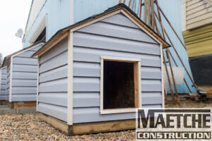 Insulated Dog Houses (Maetche Construction)