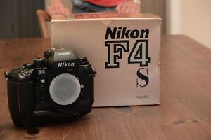 Nikon F4s (1989)