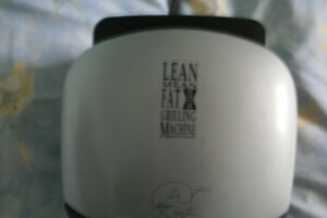 New George Foreman Lean Mean Fat Grilling Machine!!!!!!!!!!!!!!!