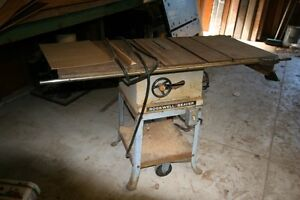 ROCKWELL BEAVER TABLE SAW WORKING CONDITION