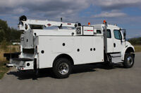 2016 Freightliner M2 Extended Cab 4x4 Service Truck