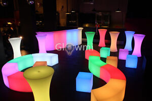 PARTY AND EVENTS - LED FURNITURE RENTAL!