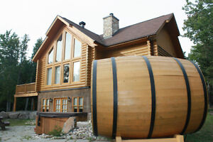 Chalet to rent in the Laurentiens valley - St Sauveur  Log house Cornwall Ontario image 5