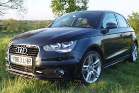 Audi A1 1.6TDI ( 105ps ) Sportback 2013MY S Line in Black (OFFERS INVITED)