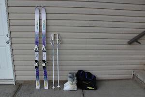 Skis, Boots, Poles & Ski Bag For Sale Edmonton Edmonton Area image 5