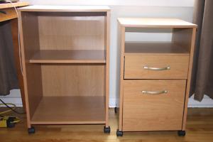 Matching Wooden Storage