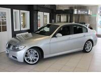 2007 57 BMW 3 SERIES 3.0 325D M SPORT 4D AUTO 195 BHP DIESEL