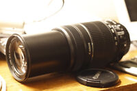 Canon EF-S 55-250mm Telephoto lens + Canon Bag