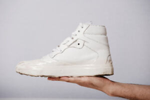 Balenciaga Paris | Dipping-Effect High-Top Leather Sneakers