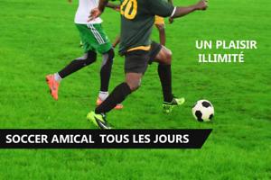 Pick up soccer/ soccer amical 18+
