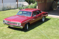 Rare Fully Restored 1967 Chevelle 300 Deluxe Sedan