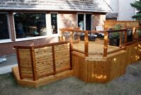 Custom Decks, pergolas and fences.