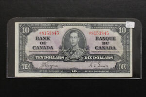 Canada 1937 $10 Bank Note