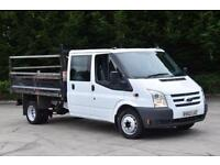 2.2 350 DRW 4D 124 BHP RWD DOUBLE CAB TWIN WHEEL COMBI DIESEL TIPPER 2012