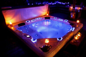 Hot Tub Sale - 1 Year No Interest No Payment Financing- Swim Spa