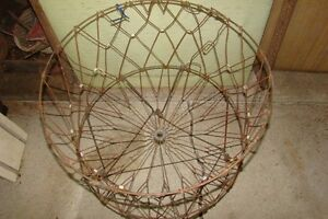 Unique Antique Wire Laundry Hamper Basket Belleville Belleville Area image 2