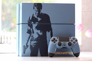 PS4 Uncharted 4 Console, *never used* for sale / à vendre!