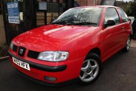 2002 SEAT Ibiza 1.4 Chill Red 3 Door Long MOT Great First Car