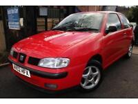 2002 SEAT Ibiza 1.4 Chill Red 3 Door Long MOT Great First Car