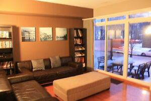 Garneau Lofts Fully Furnished Condo