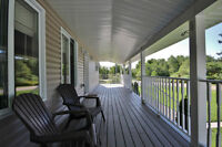 SMRT - Country Home with 14 Acres + Severance Opportunities