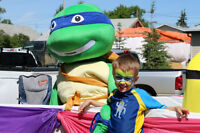Invite a Ninja Turtle or Minion to your event